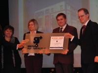 Gala wręczenia certyfikatu jakości Skoła Przedsiębiorczości 10.03.2008