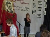 Szkolny Konkurs Recytatorski im. Krzysztofa Kamila Baczyńskiego 2010