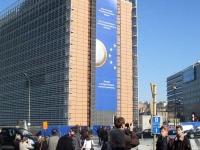 Delegacja z II LO w Brukseli