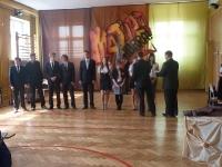 Zakończenie roku szkolnego w klasach III 2011