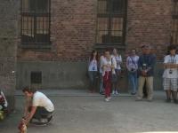 Lekcja historii w Państwowym Muzeum Auschwitz-Birkenau