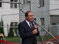 Uroczyste otwarcie boiska wielofunkcyjnego przy IILO